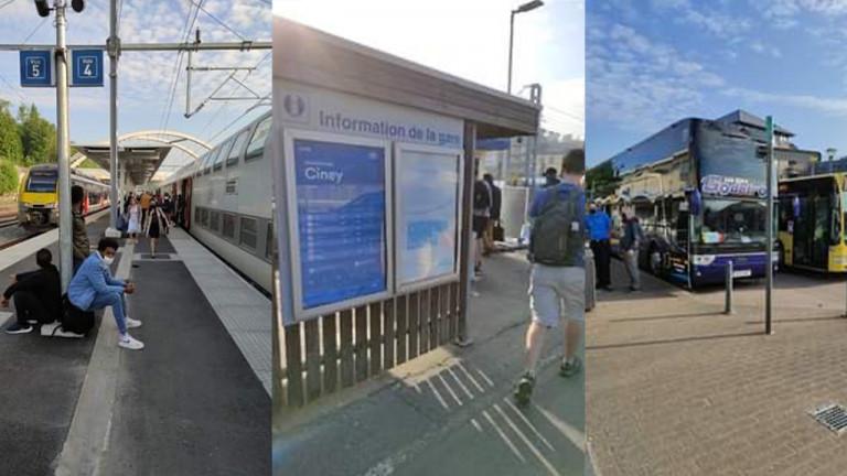 SNCB : des bus entre Ciney et Marloie suite au décès d'un ouvrier