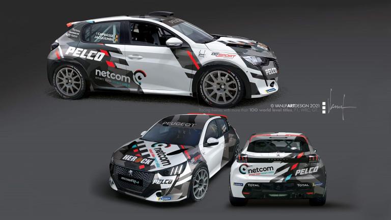 Frédéric Caprasse sera au volant d'une 208 Rally4 dans une nouvelle compétition