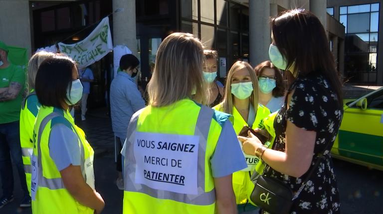 Province. Le personnel hospitalier en grève ce lundi matin