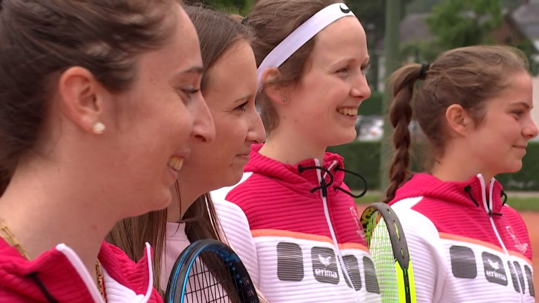 Reprise des interclubs : Focus sur l'équipe féminine du TC Marche en nationale