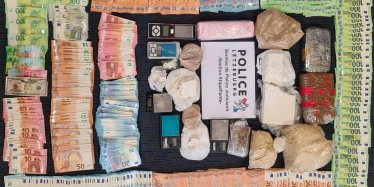 Démantèlement d'un trafic de drogue transfrontalier autour d'Esch-sur-Alzette
