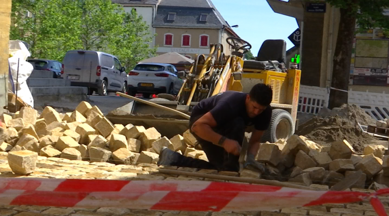 Virton : suite et fin de la rénovation de la Grand-place ?