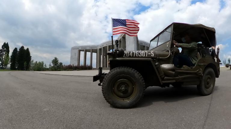 Embarquez en véhicule militaire à la découverte de Bastogne