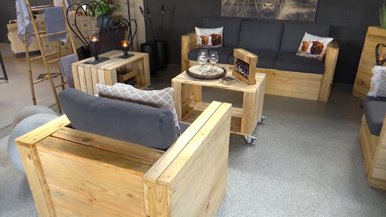 A Bertrix, les ateliers du Saupont fabriquent des meubles de jardin