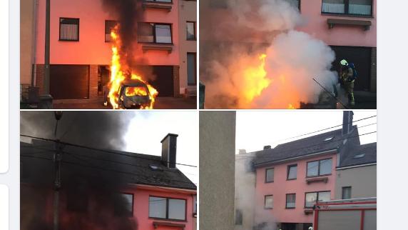 Incendie volontaire d'une voiture, à Stockem, dans la nuit de vendredi à samedi. Un suspect entre les mains de la justice
