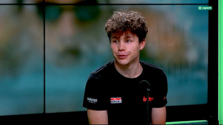 Arnaud de Lie revient sur son expérience au Baby Giro, son premier grand tour