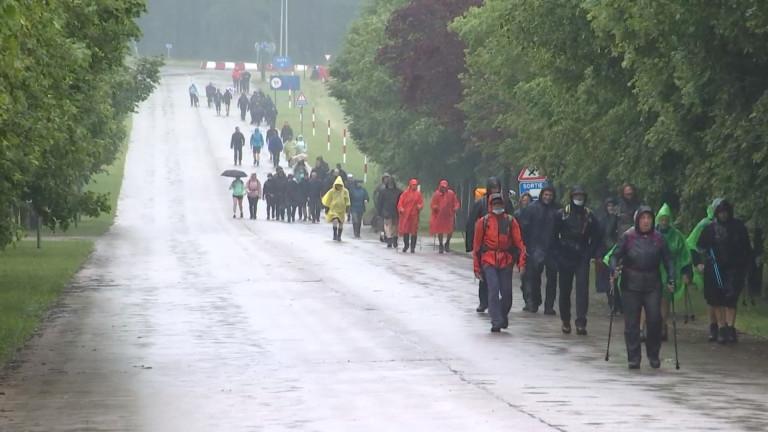 Plus de 2500 marcheurs au départ de la MESA à Marche-en-Famenne
