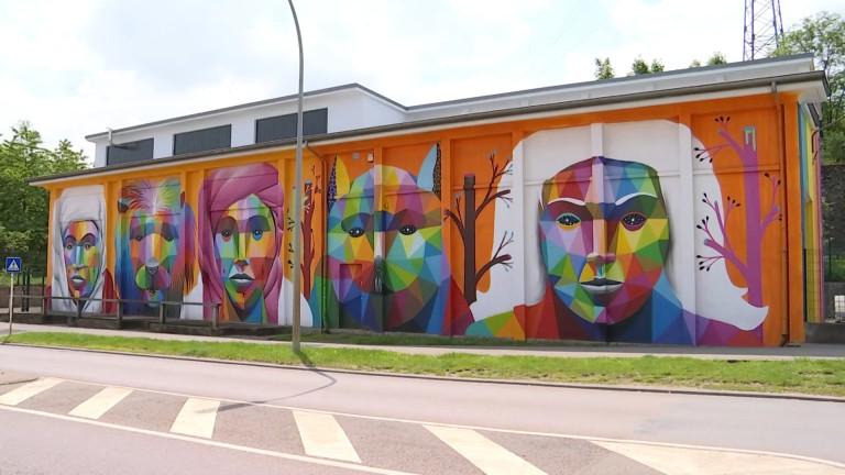 Un parcours d'art urbain à découvrir à Esch-sur-Alzette