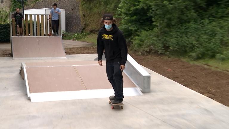 La Roche : les jeunes ont leur skatepark