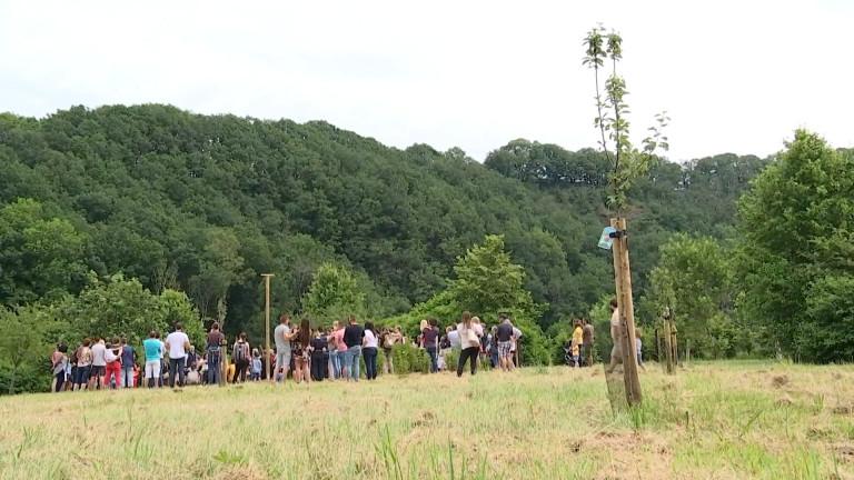 La commune de Rendeux plante un arbre par nouveau né