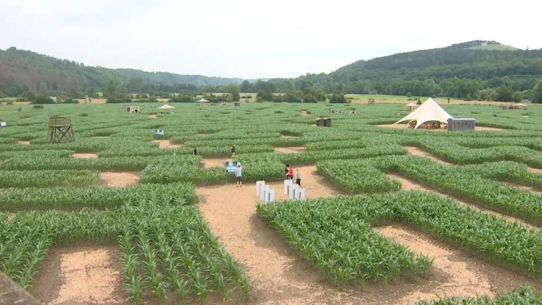 Le labyrinthe de Barvaux a ouvert ses portes