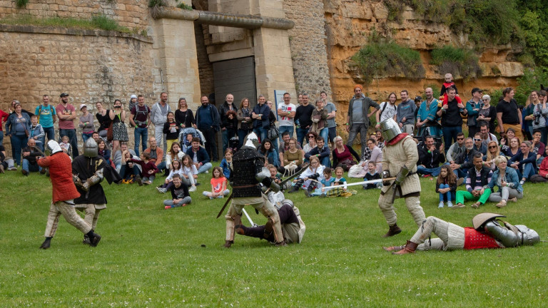 Sedan : le château fort en guerre ce week-end
