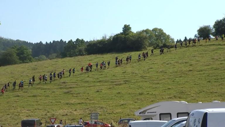 Plus de 400 participants au trail du petit papillon à Mormont