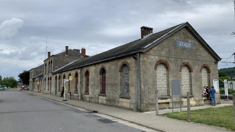 La gare d'Athus rachetée par la commune d'Aubange