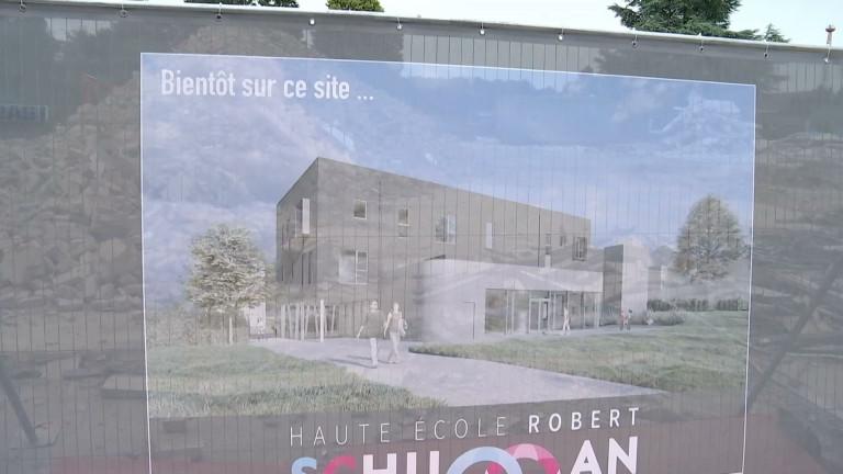 Le garage Millard fait place nette pour la Haute Ecole Robert Schuman à Libramont