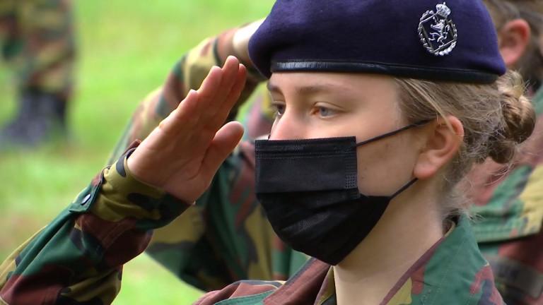 Stockem: la princesse Elisabeth termine sa formation militaire à Lagland