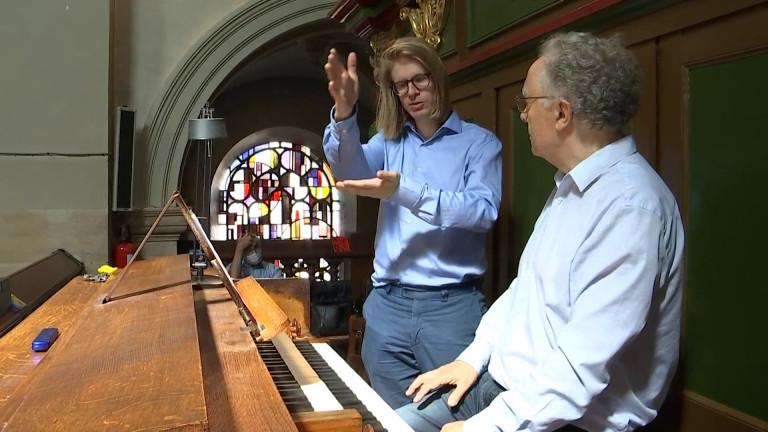 Stéphane Mottoul, organiste professionnel et professeur à l'AKDT