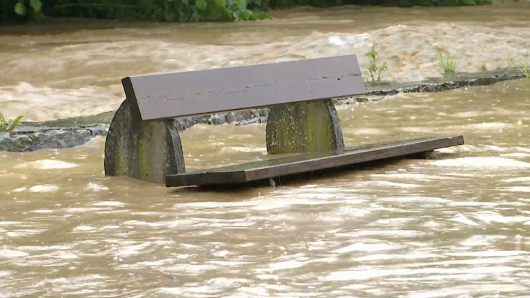 De fortes inondations dans les communes de Nassogne et Tellin