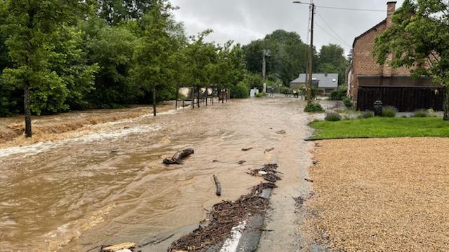 Inondations : plan d'urgence déclenché à Nassogne