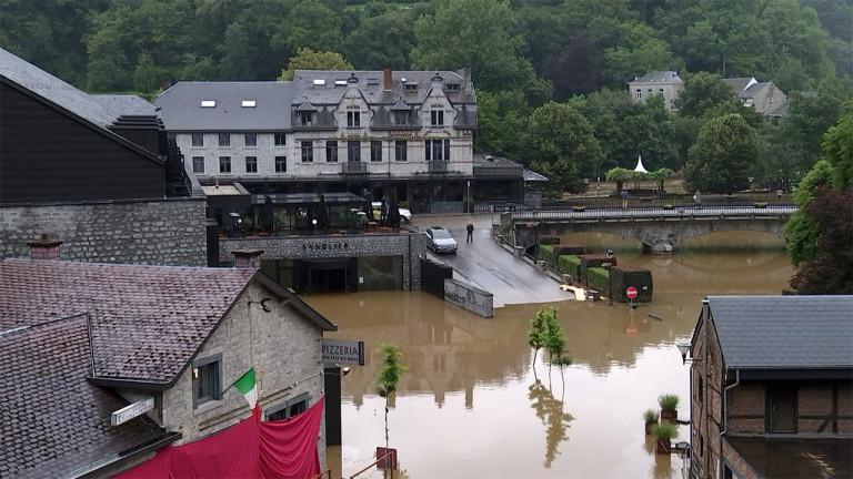 Durbuy : les pires inondations depuis plus de 40 ans
