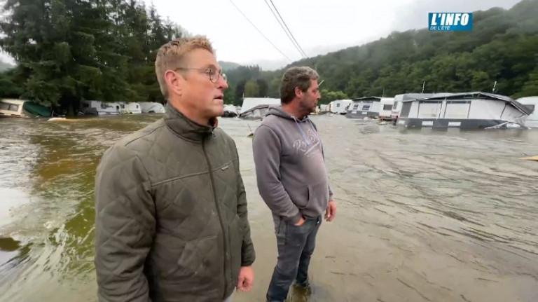 JT du 16/07/2021 - Inondations. Premières constations des dégâts