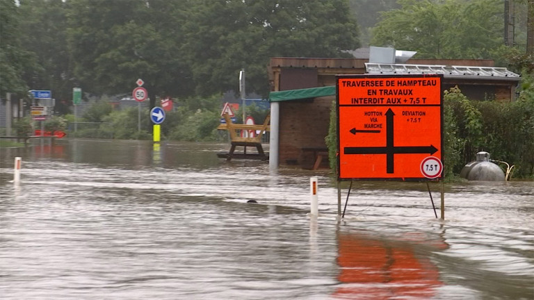 La cellule de crise provinciale dresse un premier bilan post-inondations en province de  Luxembourg