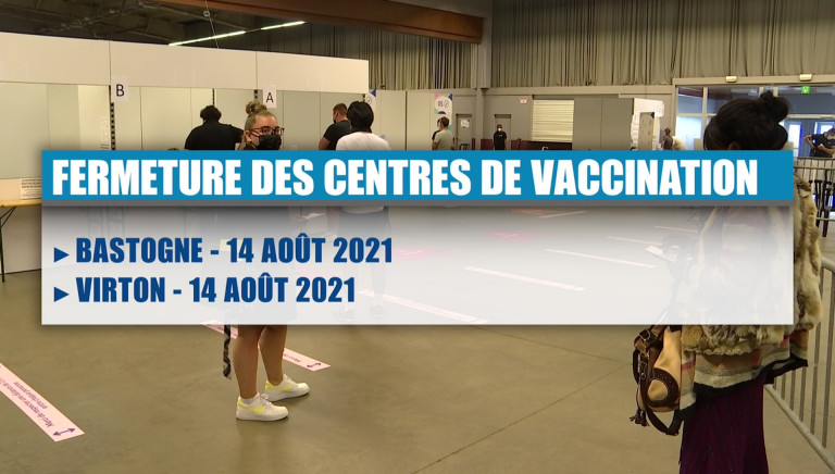 Fermeture des centres de vaccination. Seul Libramont restera ouvert