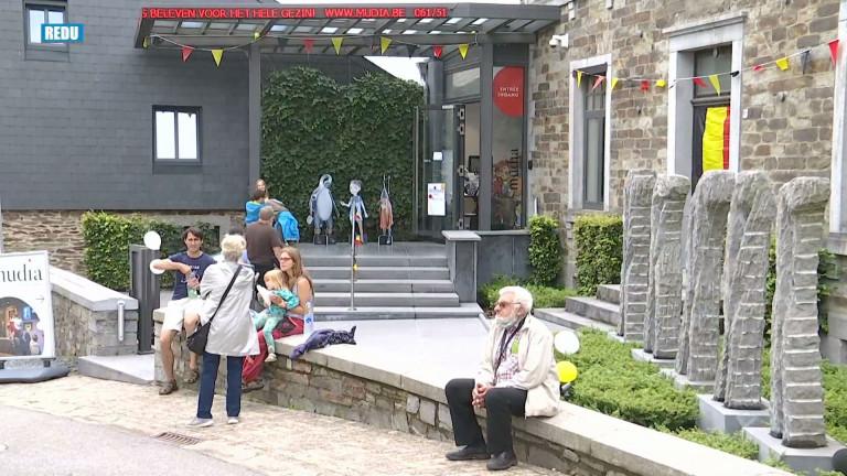 Un festival de l'art autour du MUDIA à Redu