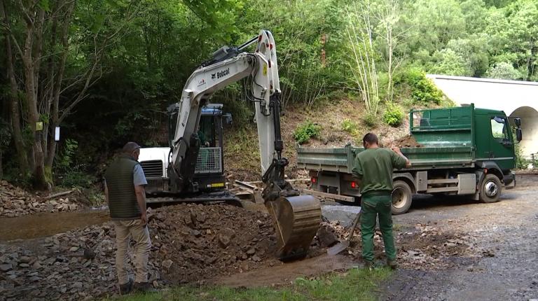 Mirwart : les étangs et cours d'eau remis en état