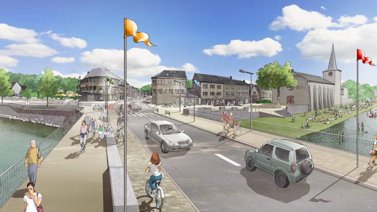 Hotton : les travaux du centre-ville débutent lundi