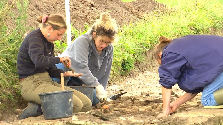 Chaque été, le site de la Villa Gallo-Romaine de Mageroy accueille des étudiants en archéologie