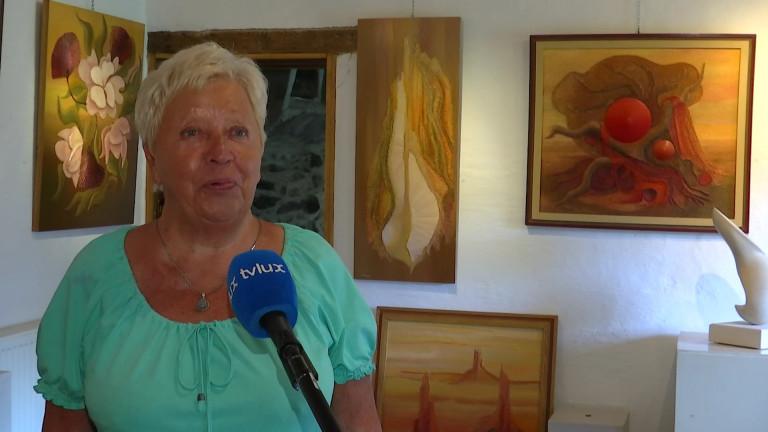 Chêne. Jeanine Rossion, artiste peintre depuis plus de 60 ans, nous ouvre les portes de son petit paradis