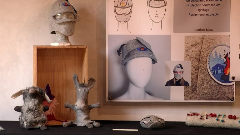 Redu. Portes ouvertes à la Maison des laines: créations sublimant la laine locale et démonstrations de machines
