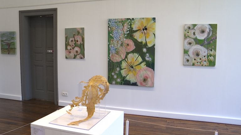 """Arlon : le collectif """"Osmoz'art"""" expose dans l'ancien palais de justice"""