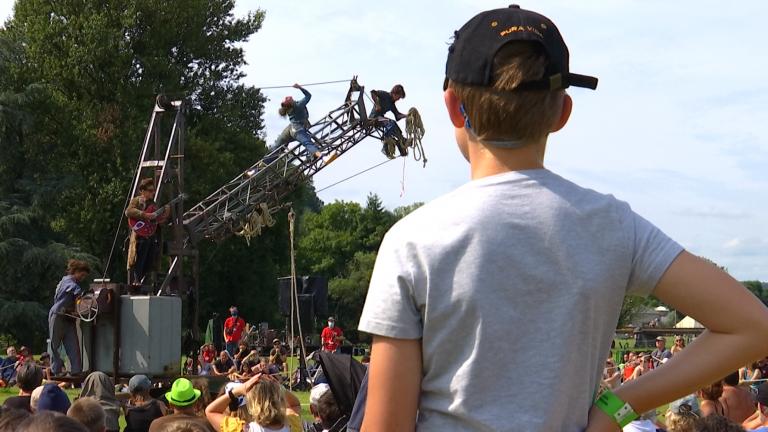 Le festival de Chassepierre retrouve un peu de son public