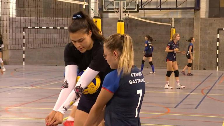 Bastogne : de jeunes volleyeuses entraînées par des professionnelles