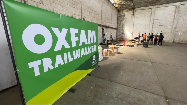 Saint-Hubert bientôt prêt à accueillir les 1200 marcheurs de l'Oxfam Trailwalker