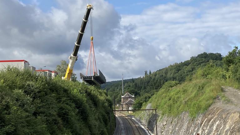 SNCB. Trafic interrompu entre Marloie et Libramont ces 11 et 12 septembre