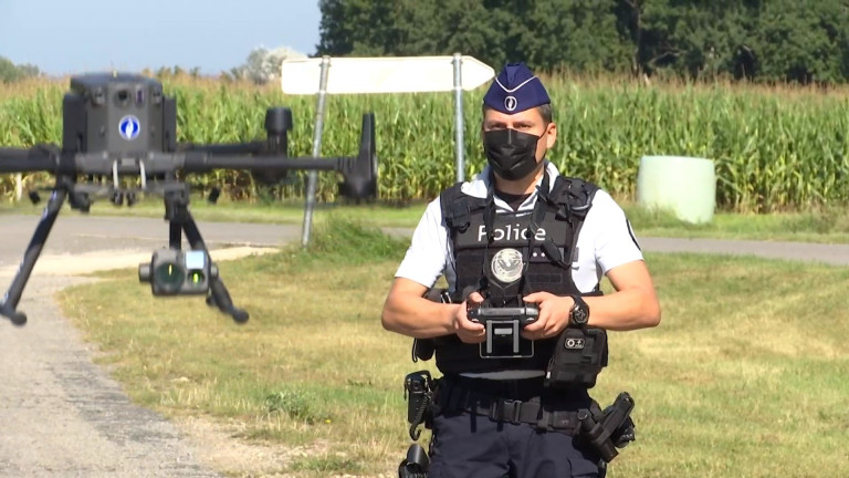 Deux drones pour la zone de police de Gaume
