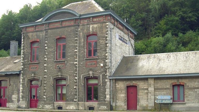 La gare de Poix-Saint-Hubert est à vendre