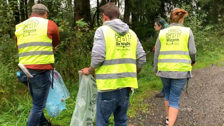 Du 23 au 26 septembre, ramassez les déchets pour une Wallonie plus propre!