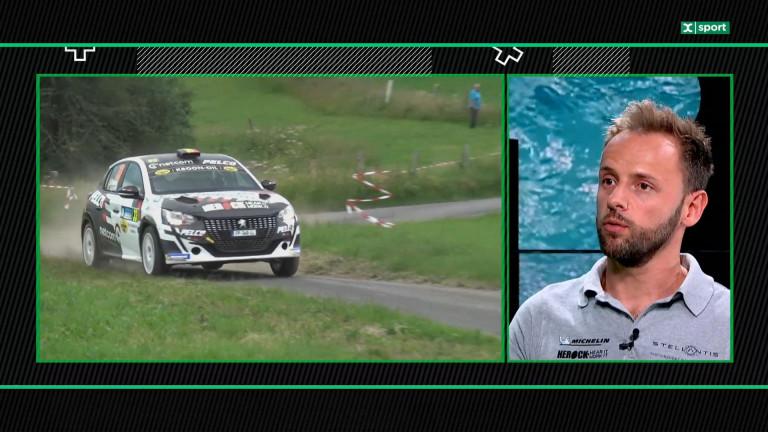 Face à Face : le pilote Frédéric Caprasse évoque son arrivée dans monde du rallye moderne