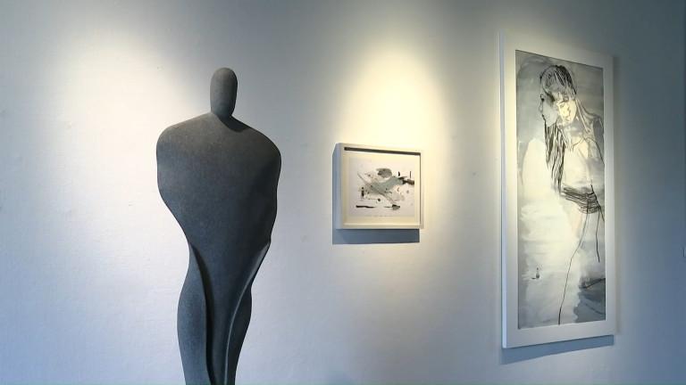 Vielsalm: deux artistes de Grand-Halleux exposent ensemble