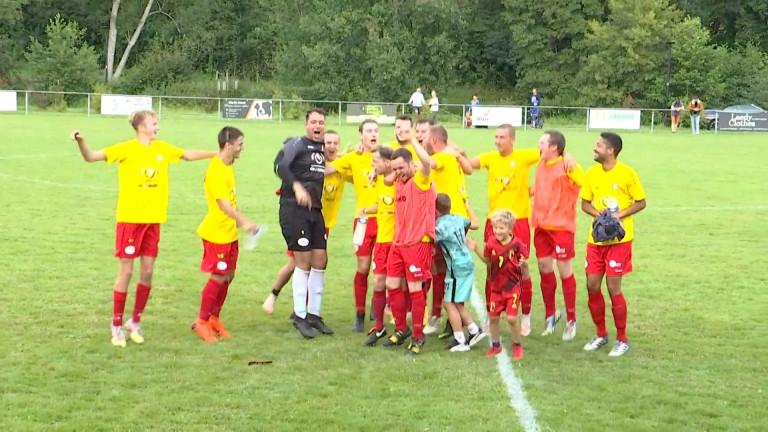 Football, P3A : Martelange se paye le scalp du leader Halanzy