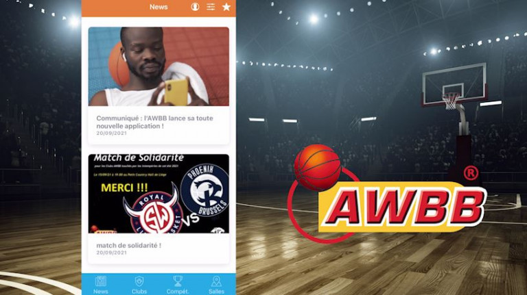 Le Basket-ball Wallon a désormais sa propre application