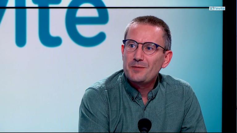 Olivier Vajda,  nouveau député fédéral ecolo