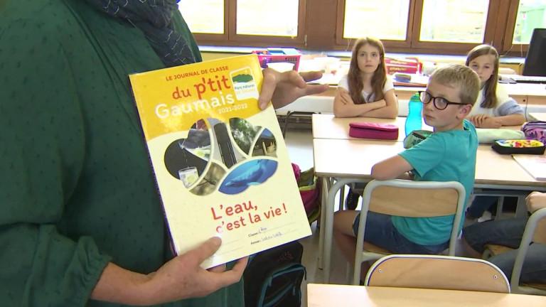 Valansart. 45 élèves ont reçu le journal de classe du p'tit Gaumais, bien plus qu'un journal de classe