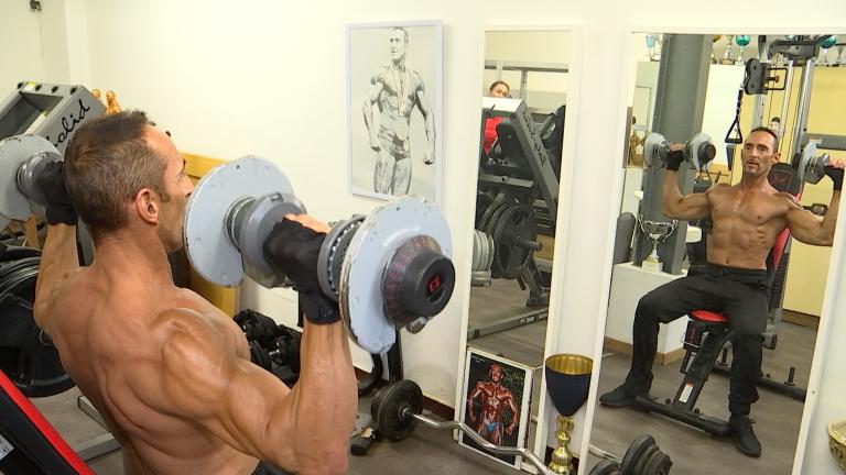 Portrait : Michel Decolle, le bodybuilder qui collectionne les titres