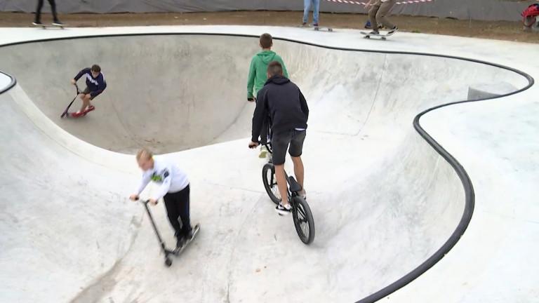 Bertrix a son skatepark et sa skate académie