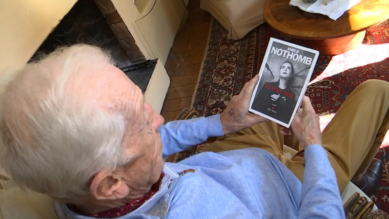 Habay: Amélie Nothomb fait revivre son papa dans son dernier roman
